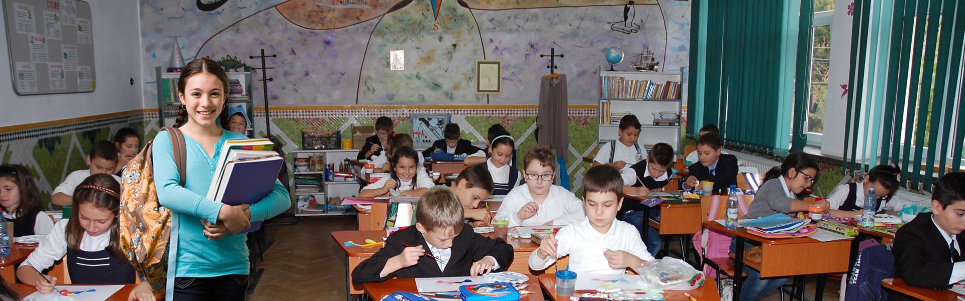 Clasa elevi la scoala Gimnaziala Ion Bancila